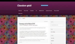 Blick auf den alten Blog